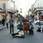 Musicians on Royal Street