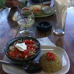 chili con carne ando cup and quesedilla