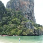 One part of Railay Beach