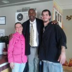 Chef\ owner Lisa Keefer, Sous chef Barak Brooks and Sidney Moncrief