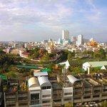 Hatyai view from 6th floor JB hotel