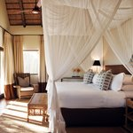 Londolozi Pioneer Suite Bedroom