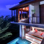 Treetop panorama pool villa
