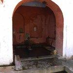 Men's bath area