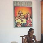 Roopali on reception