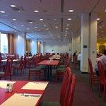 sala colazione ,,, molto grande