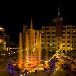 "Springbrunnen Piazza Hotel ""Colosseo"""