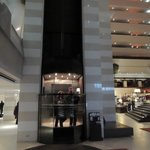 l'elegante ascensore
