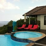 Our Villa-direct access to the pool