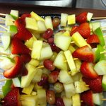 Fresh Fruit Skewers ideal for corporate lunch