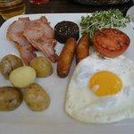 """Full Irish"" Ontbijt in Greenes Restaurant"