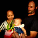 Chef Rich and Tettra with baby Jasmine