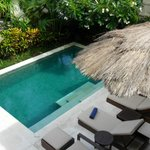 Private pool - all villas have one and are centre pieces