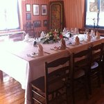 2nd floor table set