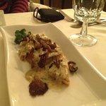 the creamy polenta