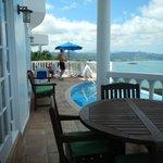 villa 412 deck