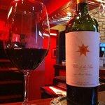 Nice wine and ambiance