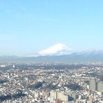 Mount Fuji from the room...