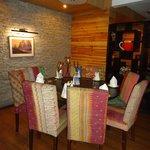Sitting Area Adjoining Restaurant