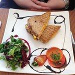 Tuna and sweetcorn toasted sandwich