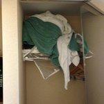 surprise in closet