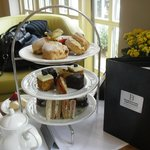 Our afternoon tea!