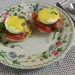 1861 Eggs Benedict on the Brunch Menu