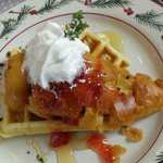 Chicken & Waffles . . . at every Sunday Brunch