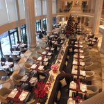 Brasserie from above