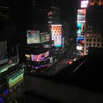 The view from my room (Times Square View King Room)