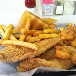 Texas sized portion, piping hot !