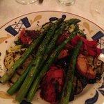 Grilled vegetable entreé