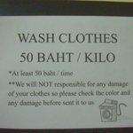 Wash Clothes condition