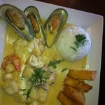 Seafood Dish- Delicious!