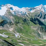 High alpine road to the GrossGlockner