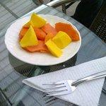 Frutas del desayuno