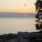 tramonto dalla veranda del ristorante (febbraio)