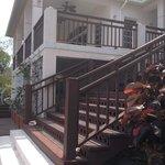 scalinata per gli appartamenti