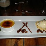 Dessert-Passion fruit creme brulee