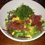 Tuna and avocado salad..my favorite