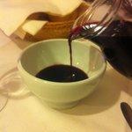 vino in scodella