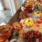 Brunch at Birta Guesthouse