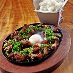 Sisig- Crispy Pork Belly and Shoulder