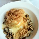 Farm Egg - Nameka Mushroom & Madera Sabayon - this was amazing!