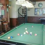 Pool table @ Bill Bentley Pub & Restaurant
