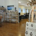 a large selection of locally made gifts