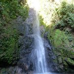 waterfall on hike on Xandari grounds