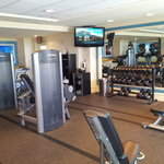 Nice gym - could do with some more machines