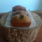 Kumquat & coconut mini loaf