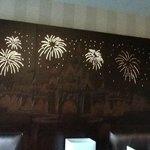 Firework Headboard